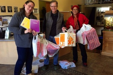 Ald. James Cappleman (46th) posted this picture to Twitter thanking contributors to the school supplies drive.