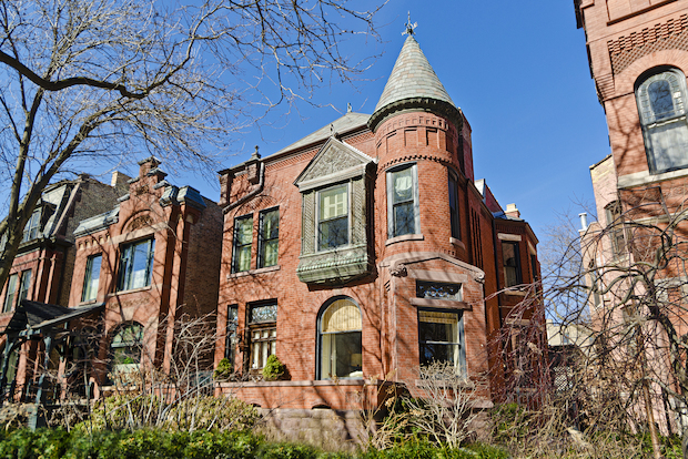 "A five-bedroom ""Grand Dame"" house built in 1886 in Lincoln Park is on the market for $3,073,000."