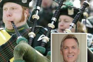"The Weather Channel's ""AMHQ With Sam Champion"" morning show will broadcast from the Irish American Heritage Center on St. Paddy's Day."