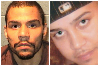 Andrew Ruiz (l.) was sentenced to 99 years in prison Thursday for the 2009 Hollaween night murder of Manny Roman.