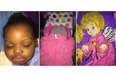 Police are looking for the parents of a baby girl found alone in the vestibule of an Auburn Gresham apartment building Friday night.