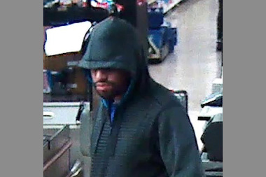 The FBI says this man robbed a Lakeview bank on Sunday, March 16, 2014.