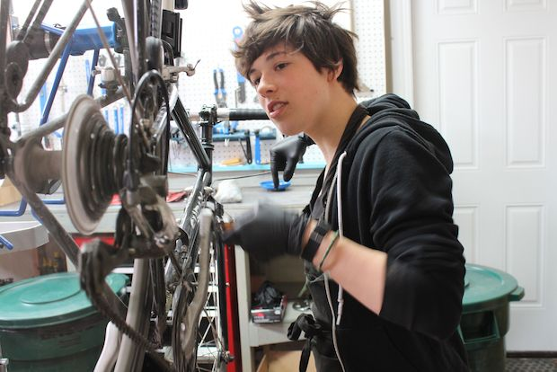 BFF Bikes, a women-focused bike shop, opened Saturday at 2113 W. Armitage Ave. in Bucktown.