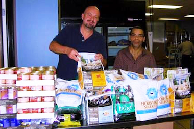 Care for Real, an Edgewater food pantry, was awarded $5,000 to buy pet food.