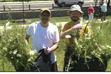 "Volunteers are invited to participate in a series of 2014 ""Clean and Green"" events at Bridgeport's Palmisano Park."
