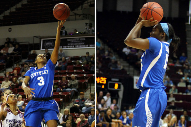 Whitney Young graduates Janee Thompson and Linnae Harper are standout players for the Kentucky women's basketball team, which is seeded third in the upcoming NCAA tournament.