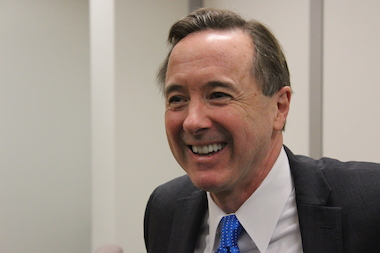 CTA President Forrest Claypool finally has something to smile about in setting new deadlines to complete the transition to Ventra.