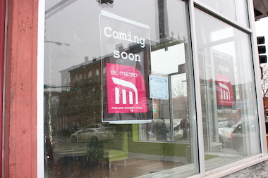 El Metro co-owner Dan Andrews said the shop plans to open in late April or early May.