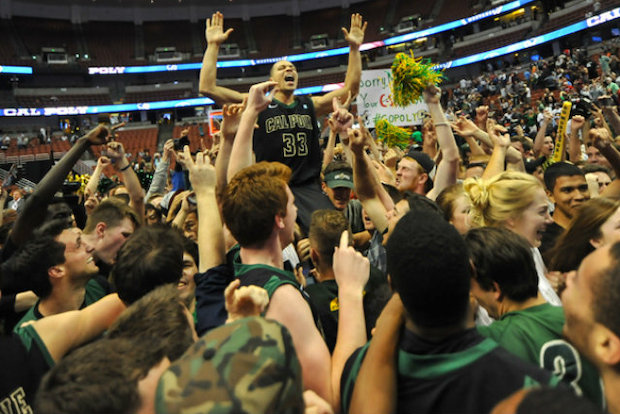 Chris Eversley, a Walter Payton College Prep graduate, led Cal Poly to a stunning run to the NCAA tournament, where it will face Texas Southern in Wednesday's opening round in Dayton, Ohio.