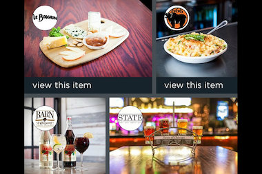 The Gratafy app lets user give specific menu items and drinks as gifts in Chicago.