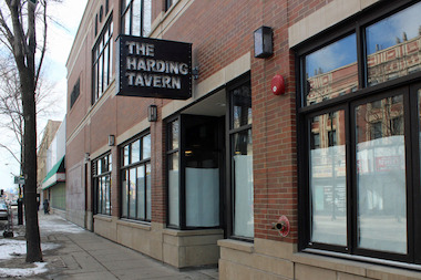 The Harding Tavern, 2732 N. Milwaukee Ave., is scheduled to open next week.