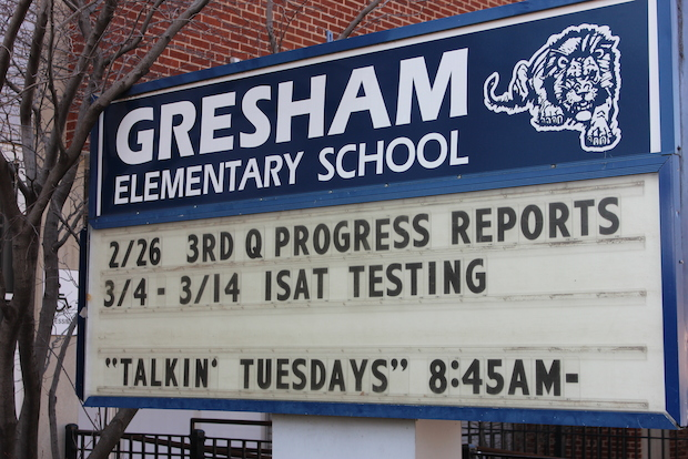 Chicago Public Schools announced March 21, 2014, its intent to recommend to the Chicago School Board that Walter Gresham Elementary School become a 'turnaround' school this fall.