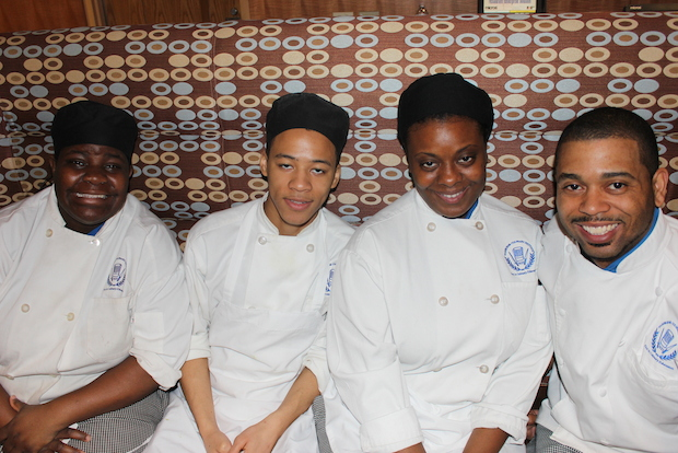 More than 300 Chicago Public Schools students attended a culinary expo March 27, 2014, at Kennedy-King College in Englewood.