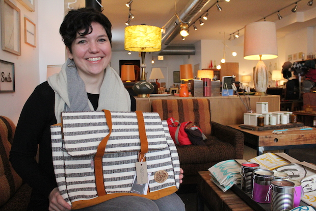 In conjunction with fair trade group Suspiro, Pilsen resident Chelcie Laggis has started a Kickstarter for Ecuadorian weavers. Laggis will be selling the Ecuadorian weavers' bags Friday at Modern Cooperative, 1215 W. 18th St.