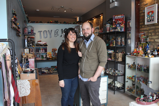 Toy de Jour, 2064 N. Western Ave., is a new Logan Square store selling vintage toys and knicknacks.