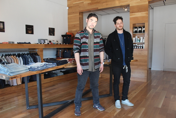 A new, high-end men's clothing store opened this week in Logan Square.