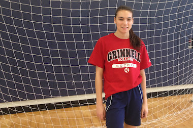 Jones College Prep senior Francesca Varias, of Wicker Park, overcame dyslexia and is a soccer star and two-time team MVP.