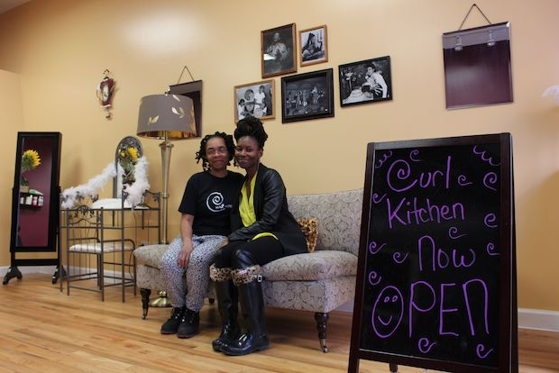 Curl Kitchen hopes to support women with natural hair in the South Loop.