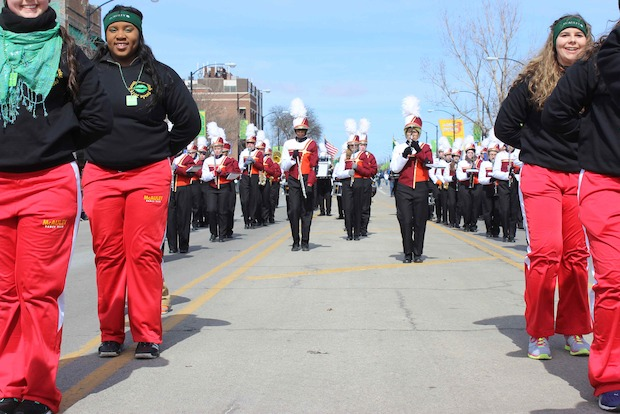 The annual parade kicked off Sunday afternoon.