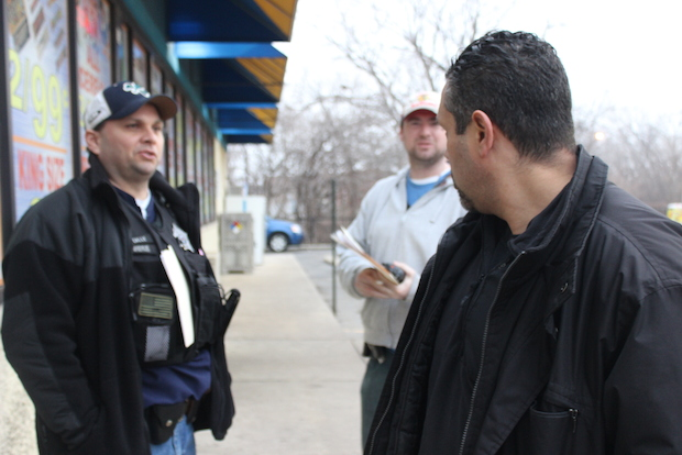 """Anybody who could kill somebody ... I feel more comfortable getting them off the street,"" said Jason, an officer in the Chicago Police Department's Fugitive Apprehension Unit."