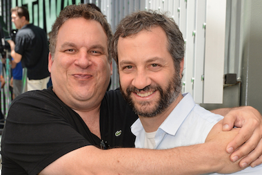 Jeff Garlin (l.) will perform at Zanies Tuesday night.