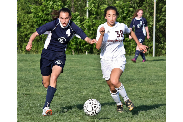 Francesca Varias, of Wicker Park, is a senior soccer standout at Jones College Prep.