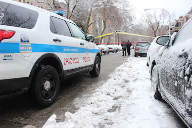 A 23-year-old man was shot in the 5800 block of North Kenmore Avenue and was in stable condition, authorities said.