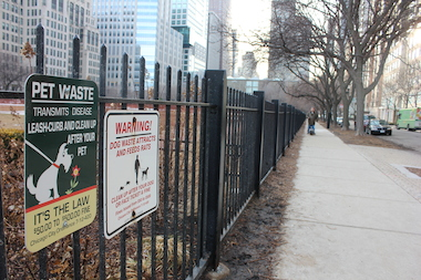 The Lake Shore Park Advisory Council said dog waste was popping up in sections of the park where pooches are prohibited.