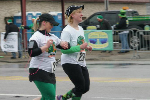 A one-mile run down the route of the South Side Irish St. Patrick's Day Parade kicks off a day of family fun on Sunday in Beverly and Morgan Park.