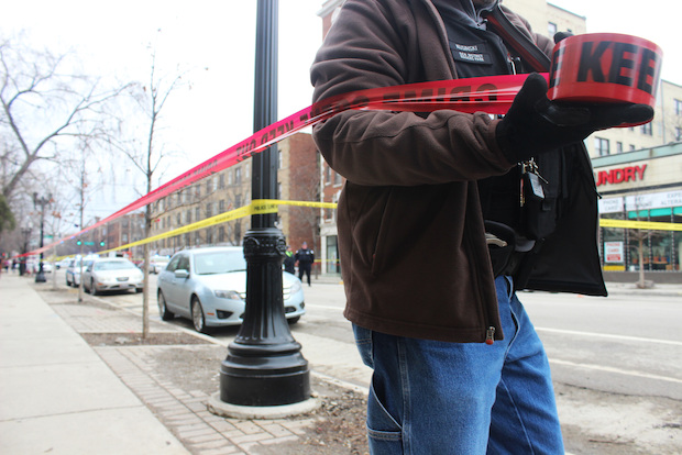 Two men were wounded in a Rogers Park shooting Friday afternoon, police said.