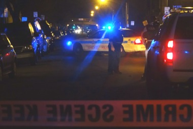 Two men were also shot less than a half mile away from each other in South Austin Thursday night.
