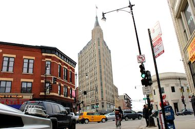 Plans are underway to convert the Northwest Tower at 1600 N. Milwaukee Ave. into a boutique hotel.