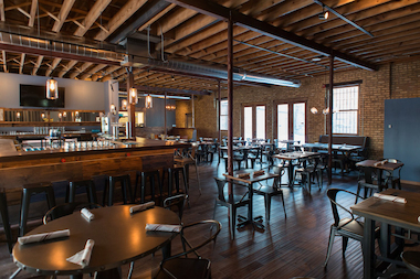 The Peckish Pig brewpub opened quietly Thursday.