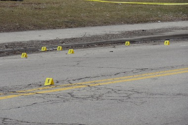 A 21-year-old man was shot to death Thursday in South Shore, police said. (file photo)
