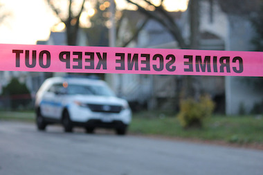 Shots were fired near the 606 Monday, police say.