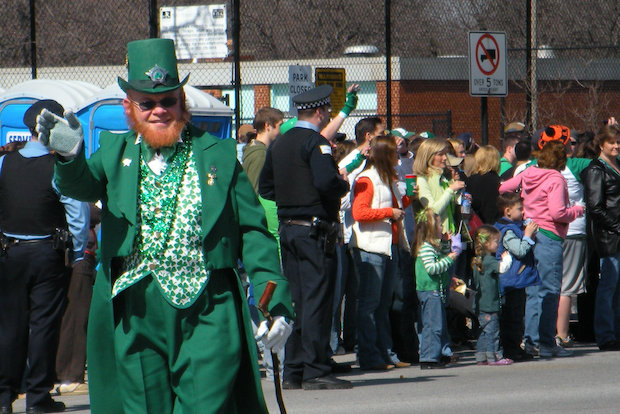 The South Side Irish St. Patrick's Day Parade will march down Western Avenue between 103rd and 115th Street at noon on Sunday, March 16. Parade organizers are dedicated to maintaining a family-friendly atmosphere.