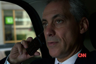 "Some ""Chicagoland"" viewers found it odd that Mayor Rahm Emanuel was still using a flip phone — but he stands by his choice."
