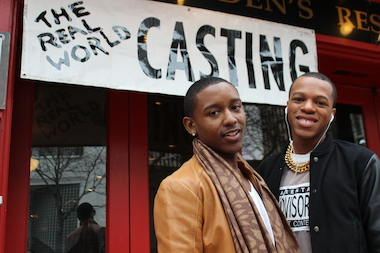"Sheldon Ross, 22, and Oba Daniels, 20, were two hopefuls who auditioned for a spot on the upcoming season of MTV's ""The Real World."""