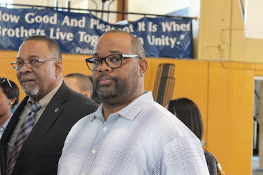 The Rev. Corey Brooks, pastor of New Beginnings Church in Woodlawn, said the state's Neighborhood Recovery Initiative program is greatly needed on the South Side.