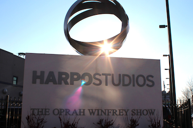 Oprah's Harpo Studios put the West Loop on the map.