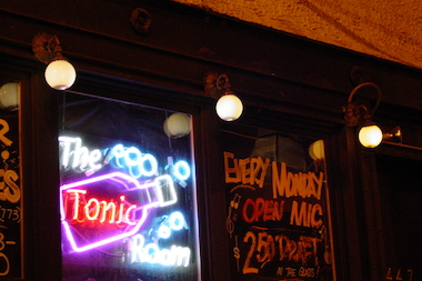 Tonic Room is hosting an '80s and '90s dance party on Tuesday.