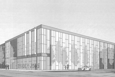A proposed new Trader Joe's at 1815 W. Division St. in Wicker Park