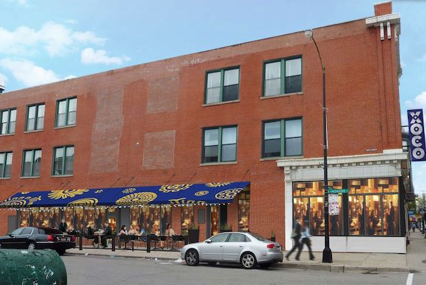 Conceptual renderings of Rick Bayless's new XOCO outpost in Wicker Park.