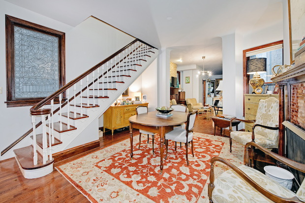 "The home at 2731 N. Hampden Court has 2,880 square feet of interior space, four full bathrooms and is filled with ""charming details"" and ""gracious room sizes,"" according to Emily Sachs Wong of @properties."