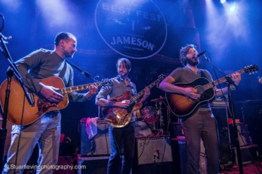 Jason Lee and Midlake perform at Dylan Fest San Francisco in November.