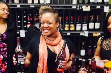 "Chrishon Lampley and Tiffany Taylor launched their wine brand, ""Love Cork Screw"" in December."