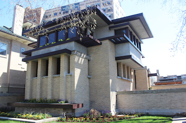 Col. Jennifer Pritzker completed a complete restoriation of Frank Lloyd Wright's Emil Bach House on Sheridan Road in Rogers Park. The project earned a Preservation Excellence Award from the city on Thursday.