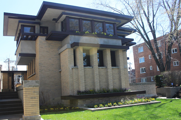 Col. Jennifer Pritzker restored Frank Lloyd Wright's Emil Bach House at 7415 N. Sheridan Road.