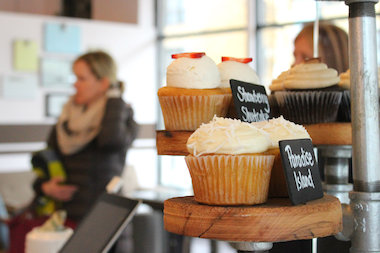 Flirty Cupcakes has added gluten-free options, ice cream and quiche to meet customer demand.