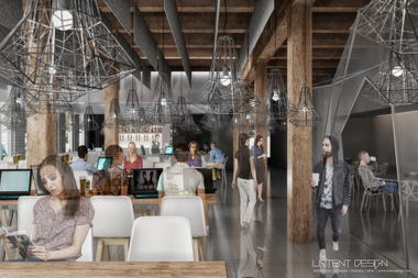 A rendering of what was supposed to be the Lincoln Park Geek Bar location.